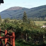 View from Bracken Lodge